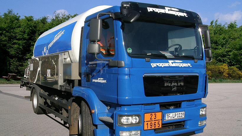 Tankwagen-Tankgas