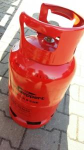 Treibgas Staplergas Gasflasche für den Gabelstapler